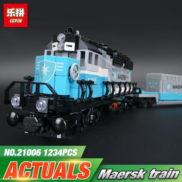 Lepin 21006 New 1234Pcs Genuine Technic Ultimate Series The Classic Train Set Building Blocks Bricks Educational Toys 10219