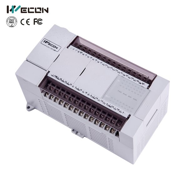 Wecon 40 points plc programmable logic controller LX3V-2416MT4H-D for gate automation