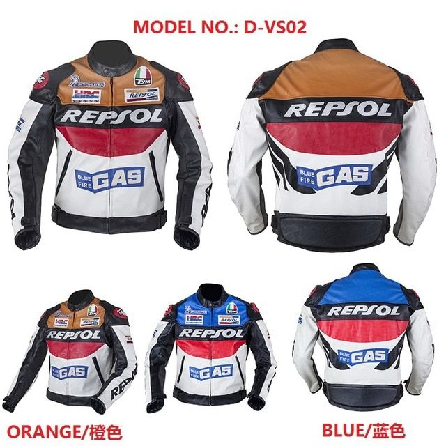 2019 New DUHAN Moto Racing Jackets winter men Motorcycle jacket D-REPSOL riding clothing motorbike suits REPSOL Jackets of PU