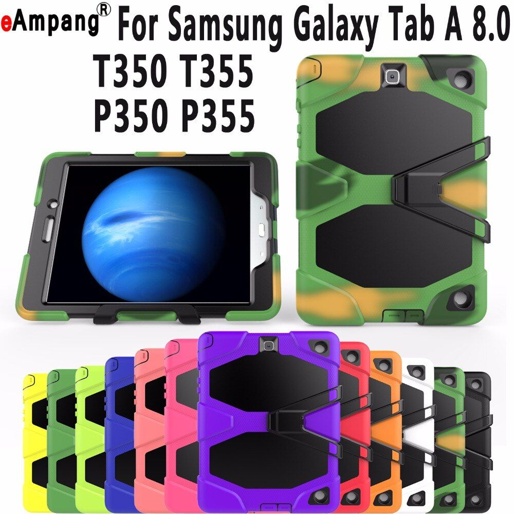For Samsung Galaxy P350 Case Armor Kickstand Cover For Samsung Galaxy Tab A 8.0 Case T350 T355 P355 Case for Samsung Tab A 8.0