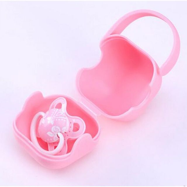 Newborn Pacifier Soother Holder Baby Dummy Mouth Silicone Teether Food Toy Pacifier Feeding Nipple Fruit Baby Supplies 501039