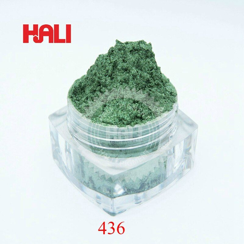 pearl pigment,pearlescent pigment,pearl powder,mica pigment for nail DIY,color:dark green,item:436,net weight:20g,free shipping.