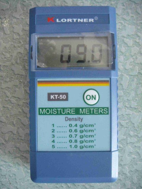 INDUCTIVE MOISTURE METER, digital wood moisture meter KT-50 KLORTNER Brand Accuracy:+-0.5%   retali and wholesale