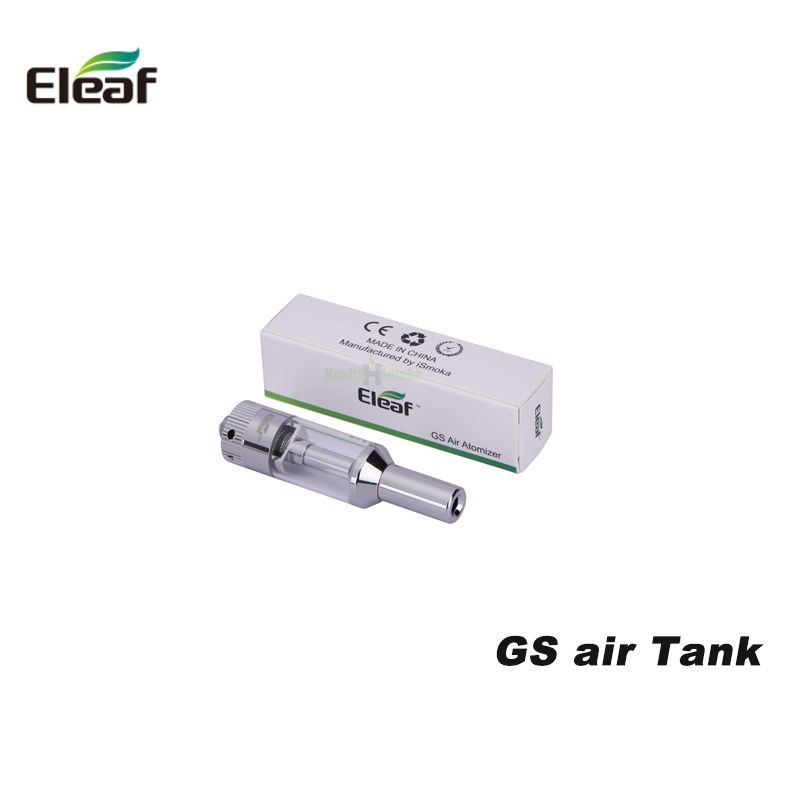 Original Eleaf GS Air Tank Dual Coil Airflow Adjustable Clearomizer For Electronic Cigarette kits Eleaf iStick battery Vape
