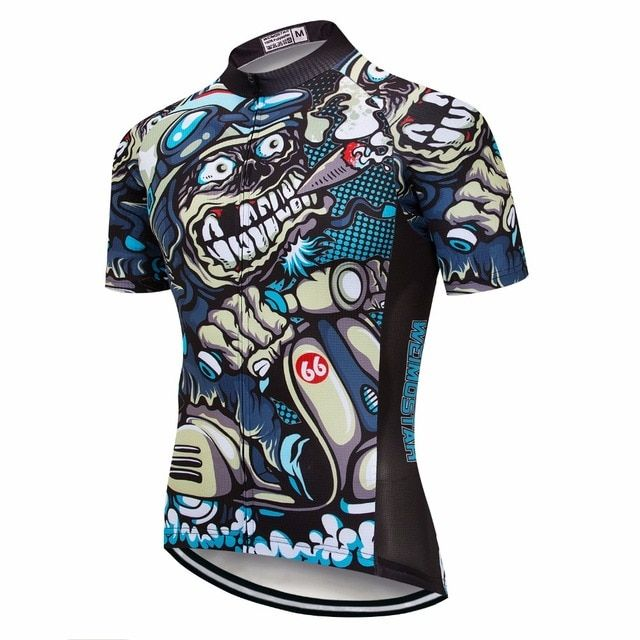 Hot Sales ! weimostar Team New Bicycle Mens Sports Shirts Comfortable Cycling Jersey Ropa ciclismo Bike Wear S-4XL