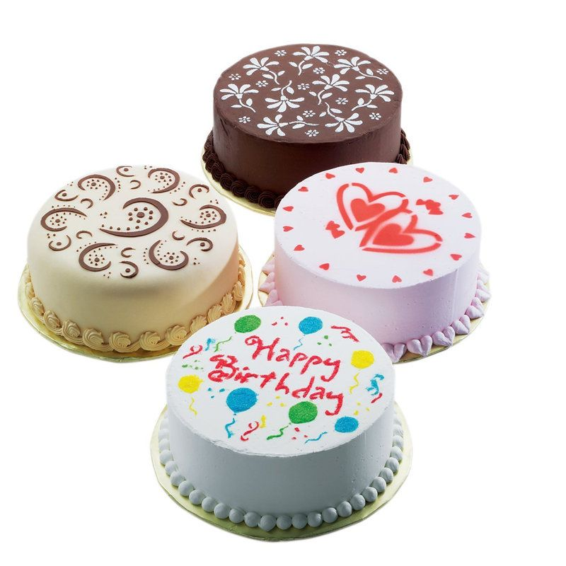Baking tools 4 piece set spray cake spray print sugar sieve West decoration Cake Stencil