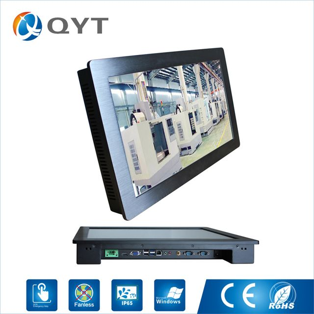 24 inch Intel core i7 4790 Infrared Touch Industrial Touch Screen Panel Pc Resolution 1920x1080 4GB RAM 500GB HDD