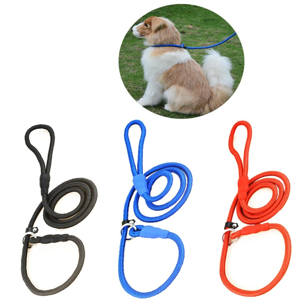 High Quality Nylon Adjustable Training Lead Pet Dog Leash Dog Strap Rope Traction Dog Harness Collar Lead