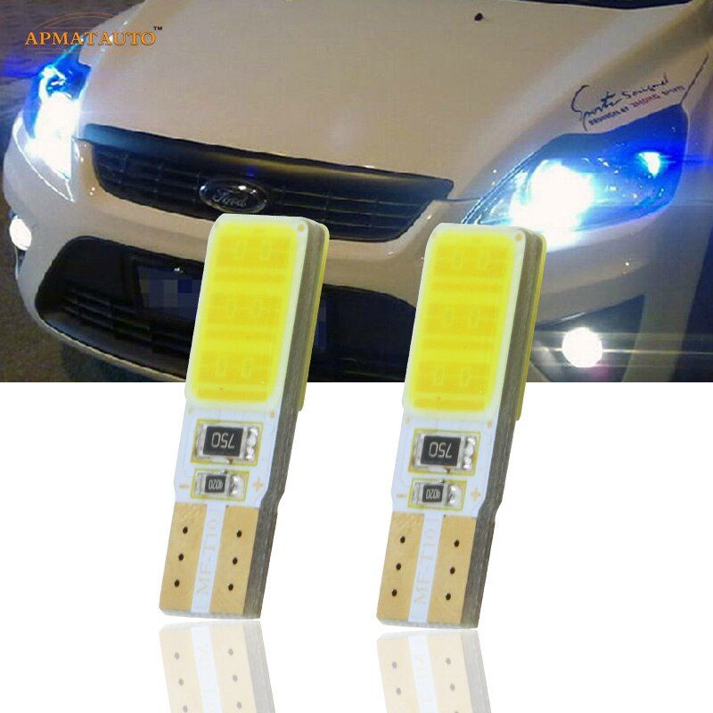 2x T10 W5W CANBUS LED Side Parking Lights Marker Lamps Bulb  For Ford Focus 2 3 4 1 C-Max Fusion