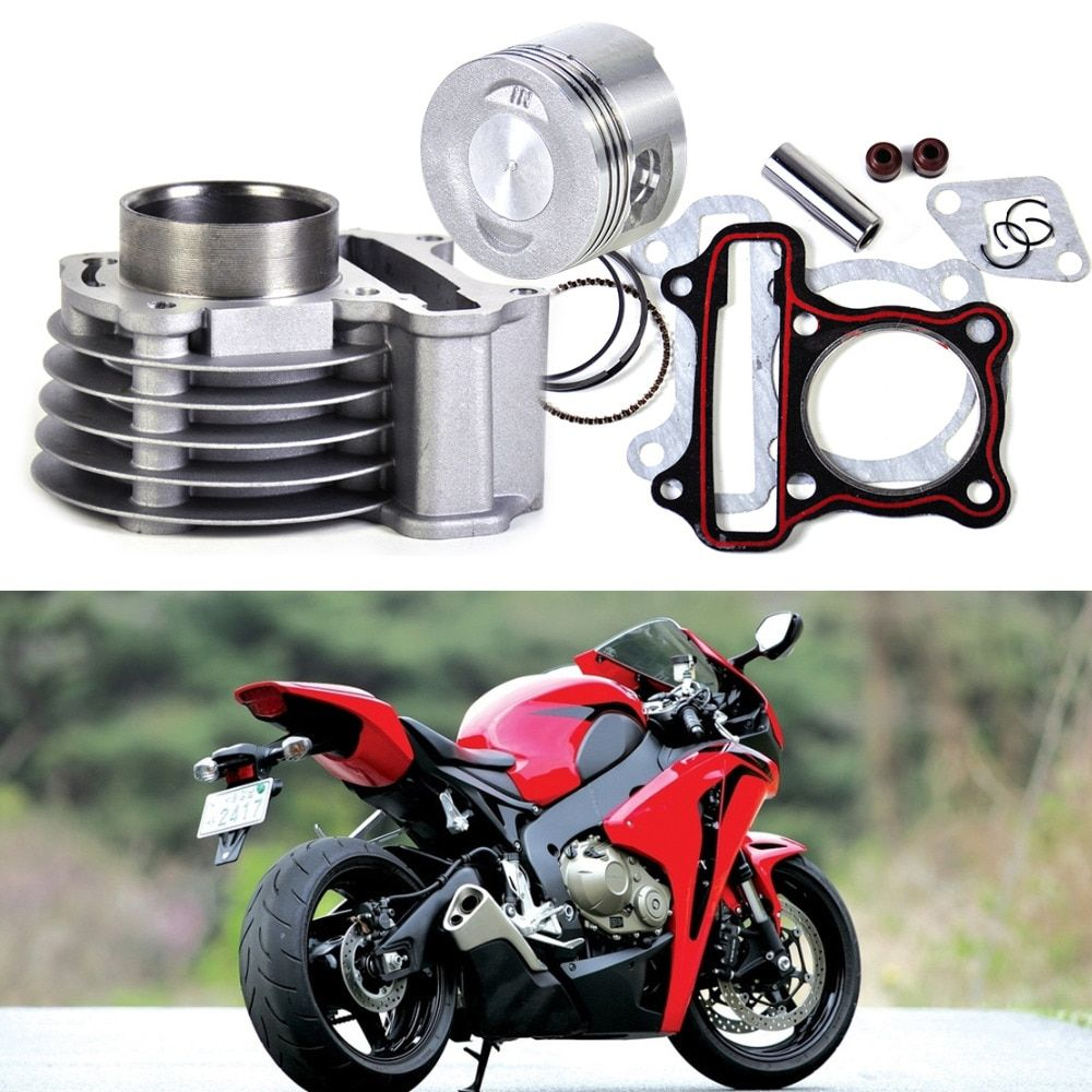 beler  47mm Big Bore Kit Cylinder Piston Rings  for GY6 50cc to 80cc 4 Stroke Scooter Moped ATV with 139QMB or 139QMA engine