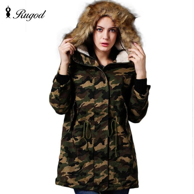 Winter Jacket Women Parka 2017 New Fashion Korean Camouflage Jackets and Coats Thick Outerwear Plus Size Ladies long Coat