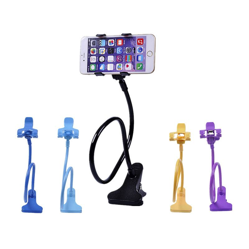 360 Rotating Lazy Bed Desktop Stand Universal Car Mobile Phone Folding Mount Holders for iPhone 5/5s/6/6s for Samsung s3/s5/s6