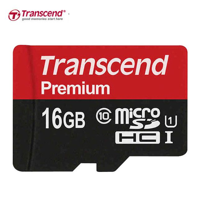 Sealed Real Transcend Memory Card 32GB 16GB SDHC Class10 Micro SDXC 64GB Card 90MB/S UHS-1 TF Memory Card Cartao Micro SD 128GB