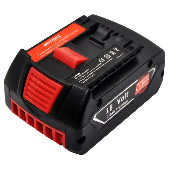 1P For Bosch Drill BAT618 Power Tool Battery 18V for BAT609 BAT618G 2 bat607 336 169 GKS 18 VLI CCS180 FHN180 RHH180 17618 GSB18