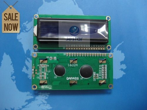 10pcs/lot 1602A 1602 16x2 Lcm Character Lcd   BLUE Blacklight