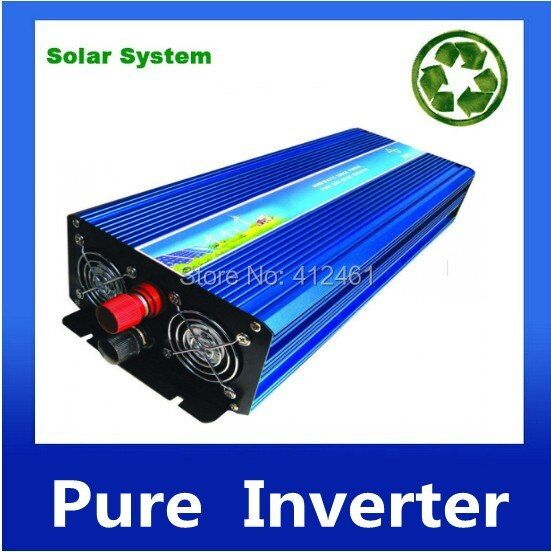 Fedex DHL UPS Free Shipping, 5000W Inverter DC12V/24V/48V to AC220V Pure Sine Wave Inverter 10000W Peak Power ISO9001 CE ROHS FC