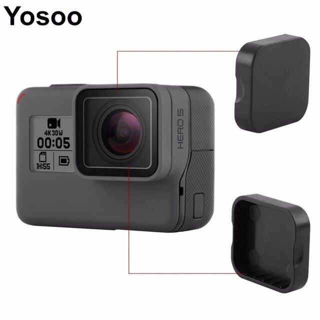 Lens Cap Cover Frame Protector for Gopro Hero 5 Black Action Camera