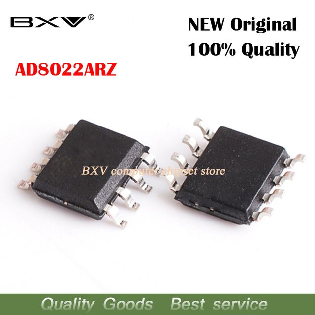 20pcs/lot AD8022ARZ AD8022 SOP-8 Operational Amplifier original authentic