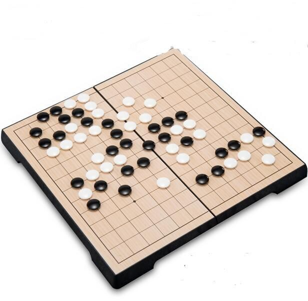 169chess/set Go Game set folding magnetic board  portable 13 line WeiQi chess game game of gochess WeiQi gobang game checkers