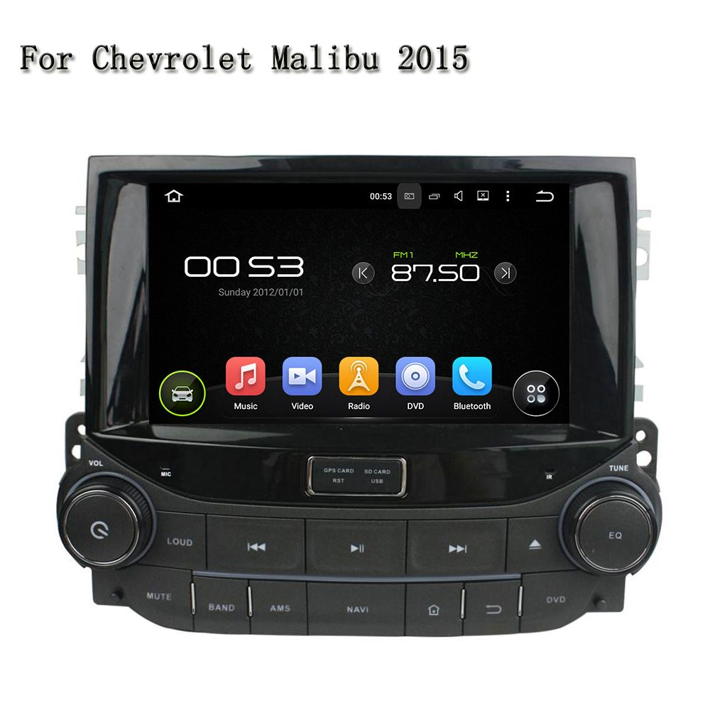 Quad Core Android 5.1.1 Radio Multimedia FM RDS Car DVD Player Navigation GPS TV 4G Radio CANBUS For Chevrolet Malibu 2015