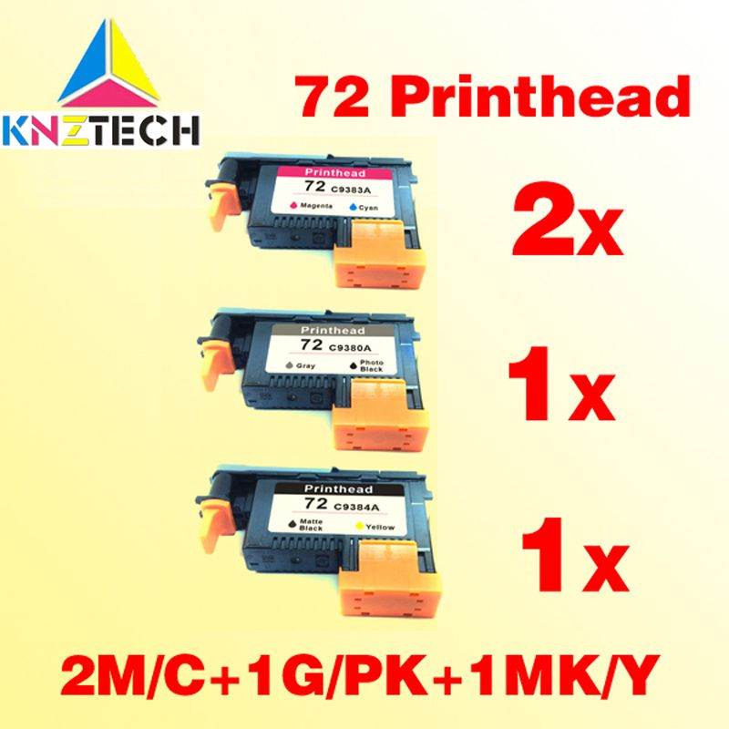 4pk for hp72 print head compatible for hp 72 Designjet T610/ T620/T770/T790/T1100 printer head