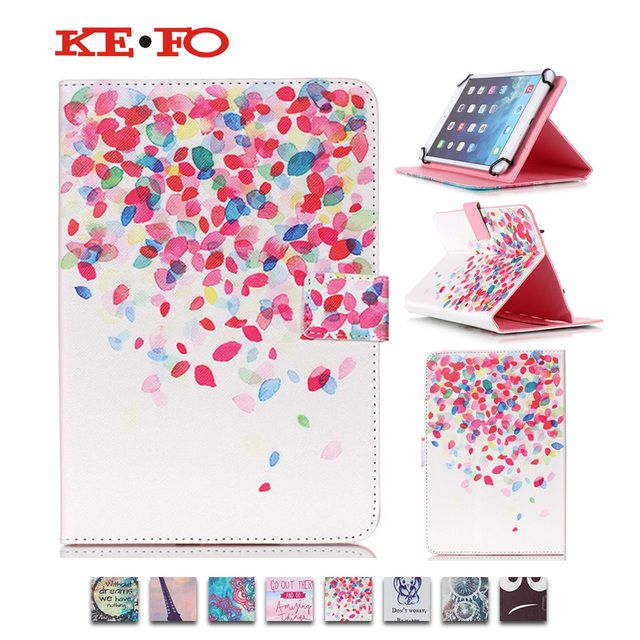 Universal PU Leather Case Cover For 10 inch Android Tablet Cases For Lenovo Miix10/Miix300 10 /Miix2 10 10.1inch+flim+pen KF553C