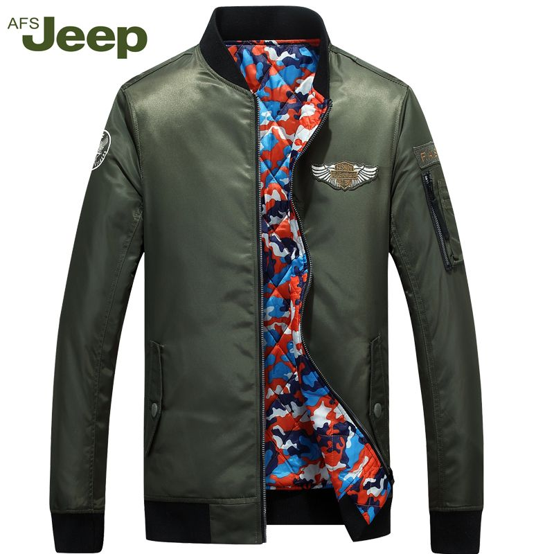 2018Afs Jeep Spring New Men's Jacket Large Size Collar Casual Comfort Jacket Men's Color Lapel Long Sleeves Top 179