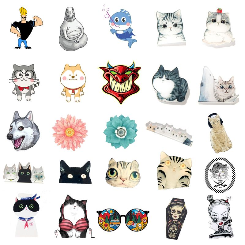 1 PC Cartoon Animals Badge for Clothing  Kawaii Animal Acrylic Badges Decoration Icons on The Backpack