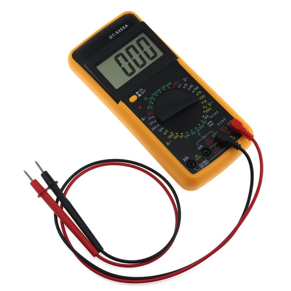 Digital voltmeter ammeter power supply voltage meters detector wattmeter volt current capacity tester indicator