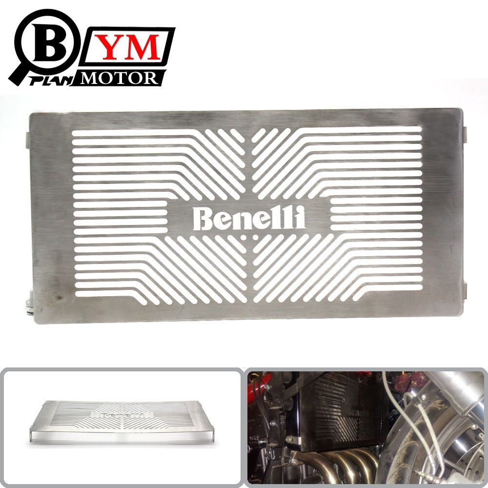 CNC Stainless Steel Motorcycle Accessories Radiator Grille Guard Cover Protector For Benelli TNT300 BJ300GS TNT600 BN600 Stels 6