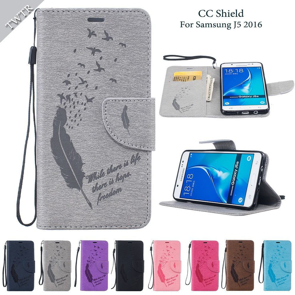 Flip Case for Samsung Galaxy J56 J510FN SM-J510FN J510FN/DS SM-J510FN/DS Leather Cover for Samsung J5 J 5 2016 J510f J510h Case