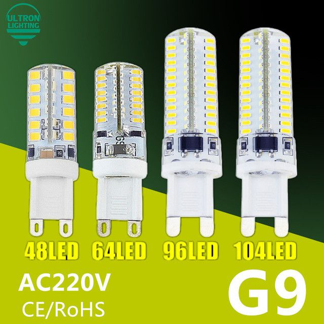 G9 LED Lamp 7W 9W 10W 11W Corn Bulb AC 220V SMD 2835 3014 48 64 96 104leds Lampada LED light 360 degrees Replace Halogen Lamp