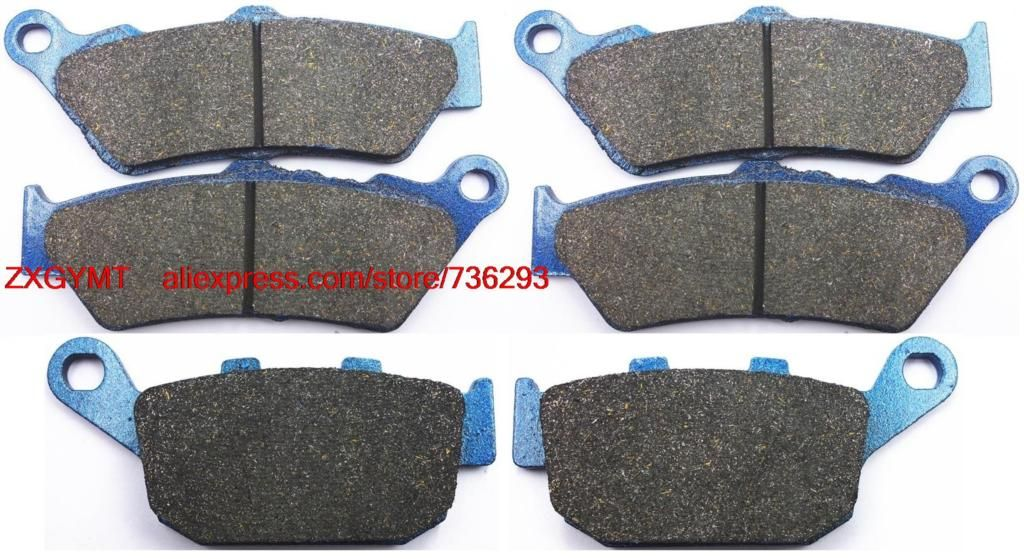 Motorcycle Semi Metallic Brake Pads Set fit HONDA NT650 NT 650 V Deauville 1998 - 2000