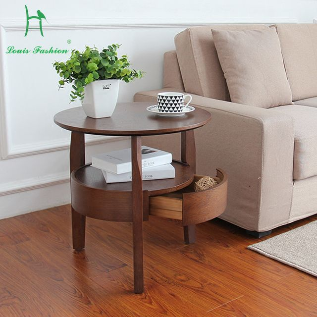 The bedroom of tea table furnitureThe NordicThe drawer is a small round table