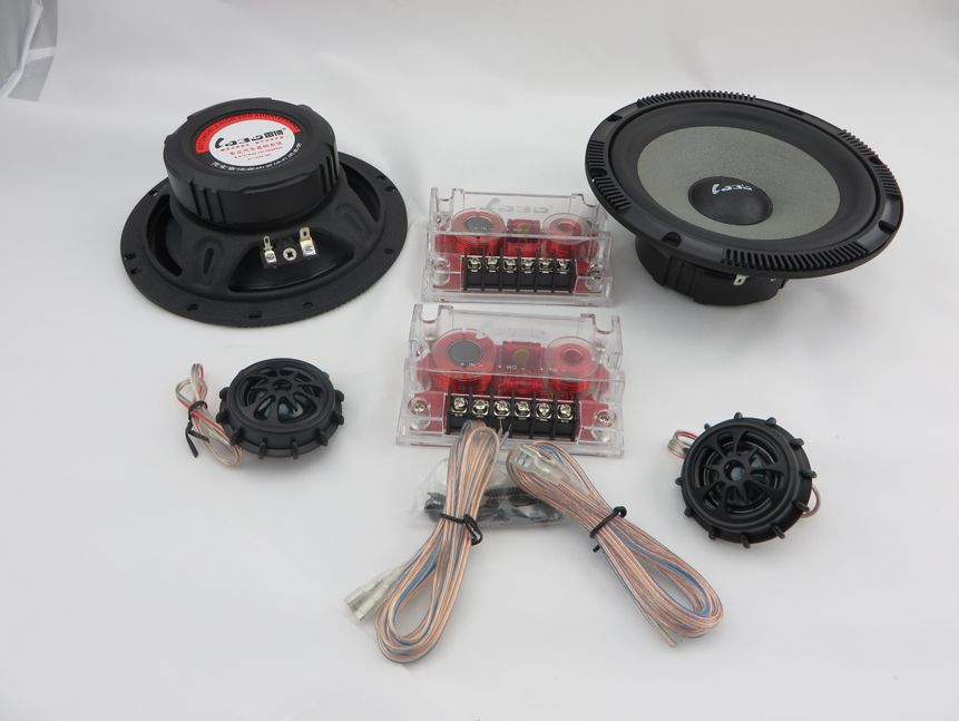 2017 NEW 6.5 way component car speaker Does car horn 12 v and 24 v original car stereo The tweeters woofer