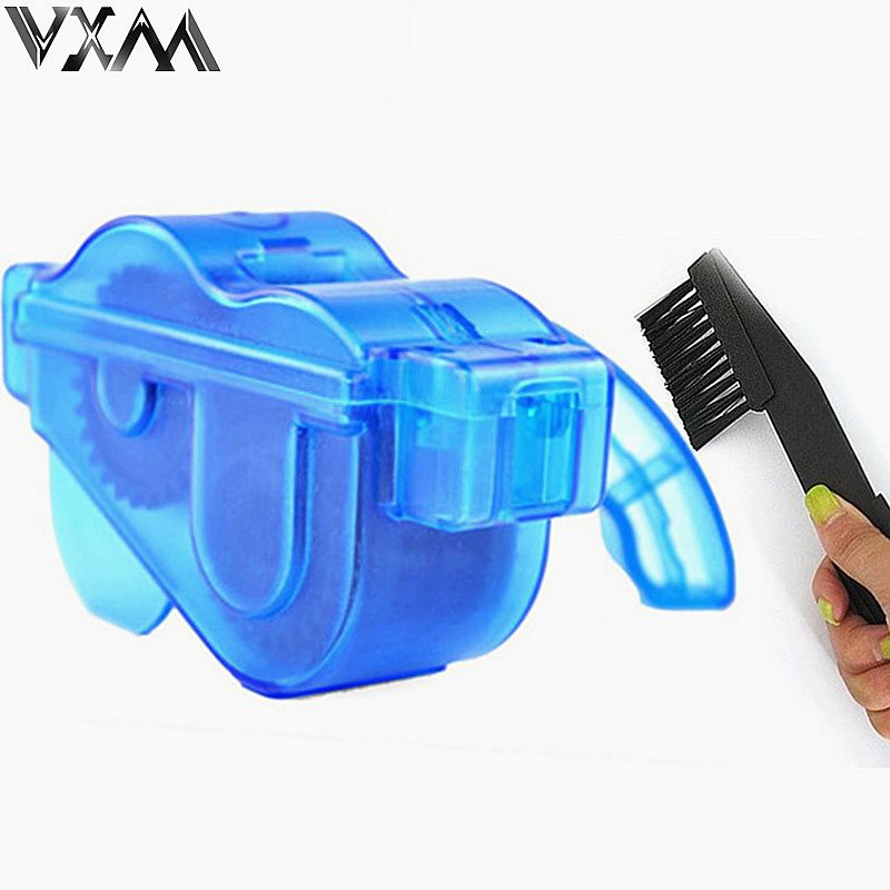 Bicycle Chain Cleaner Cycling Mountain Bike Machine Brushes Scrubber Wash Tool Kit Mountaineer Bicycle Chain Cleaner Tool Kits