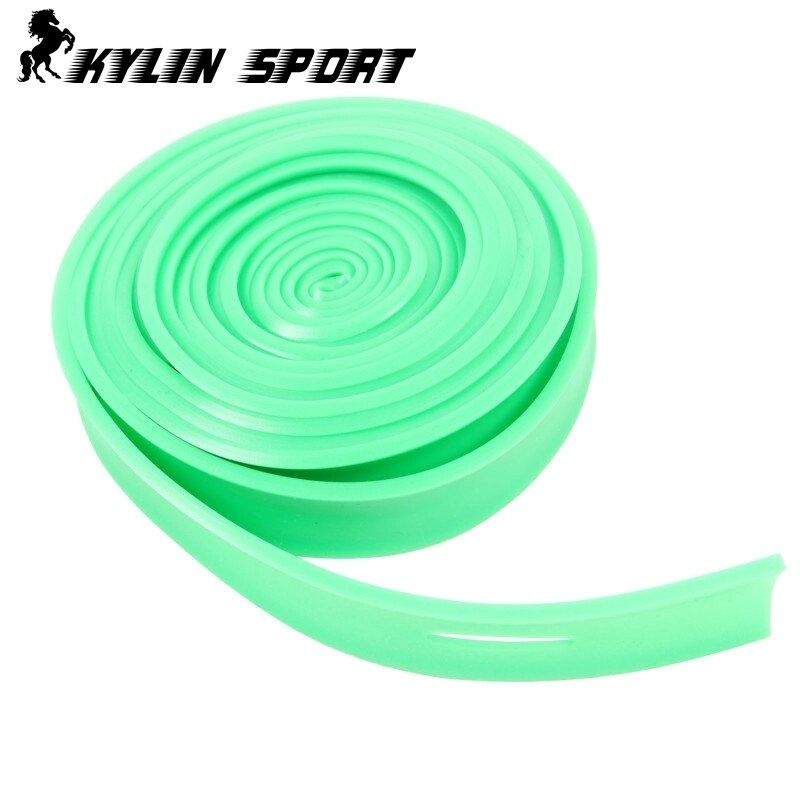5m green resistance band  Tensile strength training exercise with elastic band  long resistance bands