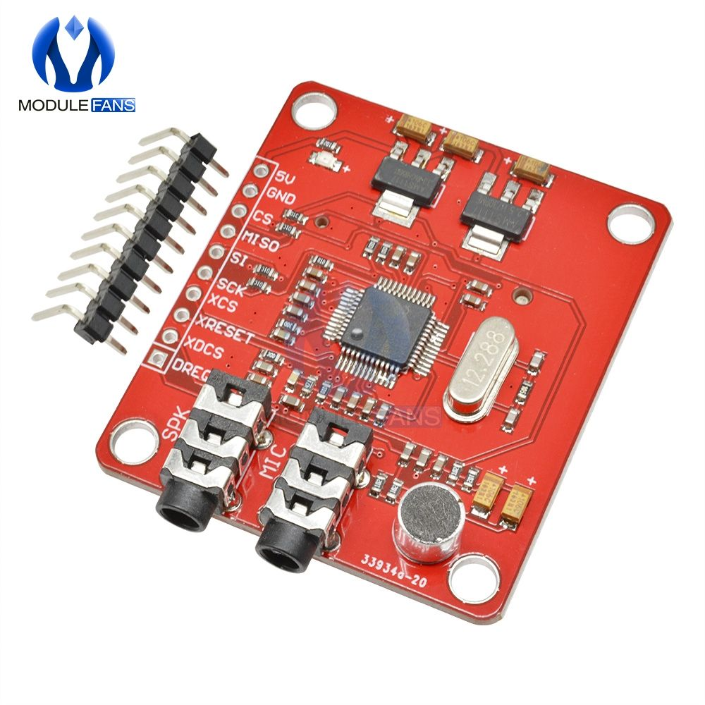VS1053 VS1053B MP3 Module For Arduino UNO Breakout Board With SD Card Slot VS1053B Ogg Real-time Recording For Arduino UNO