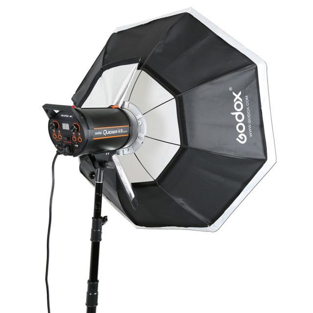 Godox Octagon 95cm 37'' Honeycomb Grid Softbox Bowens Mount for Studio Strobo Studio Flash Light