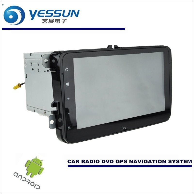 YESSUN Car Android Navigation Radio CD DVD Player GPS Navi Multimedia For VW Transporter / Caravelle / Multivan / Doubleback