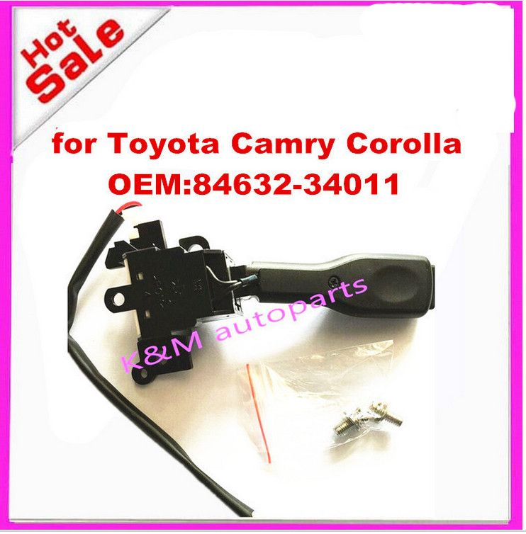 84632-34011 84632-34017 Cruise Control Switch for Toyota Camry Corolla Highlander RAV4 Matrix Tundra for Lexus Yaris Scion Prius