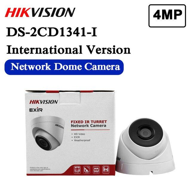 DHL free shipping English version DS-2CD1341-I replace DS-2CD2345-I 4MP CCTV camera POE ip camera