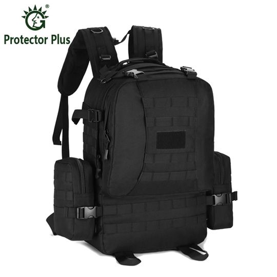 Multifunctional New Mountaineer Camp Climb Big Rucksack Waterproof Outdoors Nylon Backpack Men Military Tactics Backpack 50L
