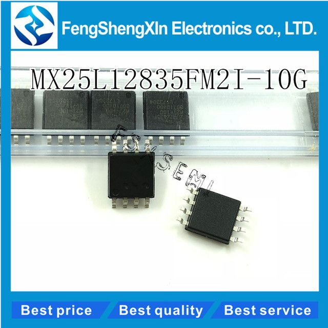 5pcs/lot  New MX25L12835  MX25L12835FM2I-10G  128MB FLASH IC   SOP-8