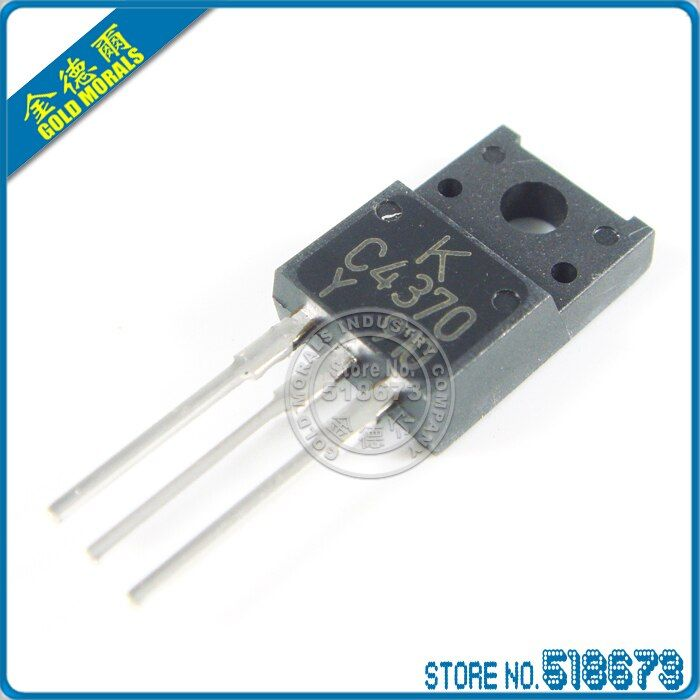 10pcs/lot 2SC4370 C4370 Silicon NPN Power Transistors TO-220F Free Shipping