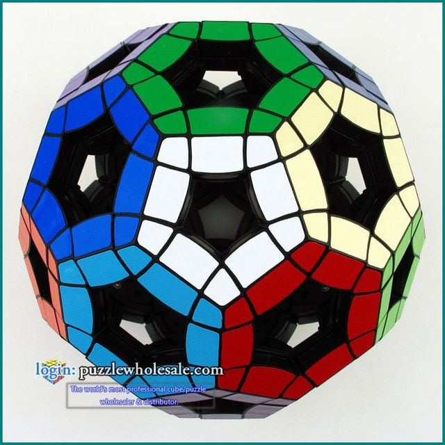 VeryPuzzle Tuttminx V4 Magic Cube Hollow Football Puzzle Cube