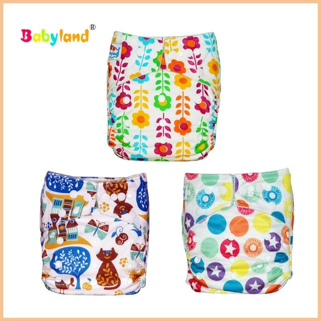 2016 Babyland New Patterns Cloth Nappies, Wholesale discount babyland Cloth diapers