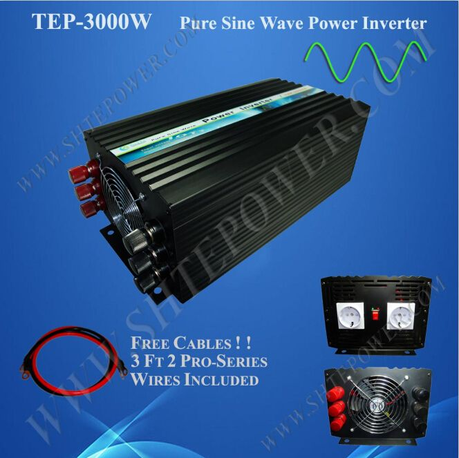 dc 12v ac 110v inverter 3kw 3000 watt pure sine wave inverter dc to ac pure sine wave inverter