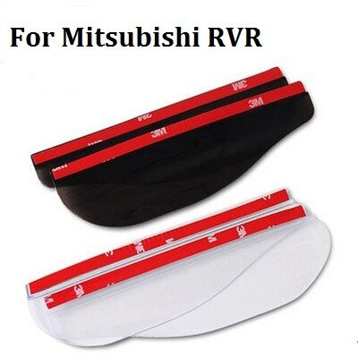 For Mitsubishi RVR Eyebrow Rearview mirror rain gear for Mitsubishi outlander accessories(1pair/bag)