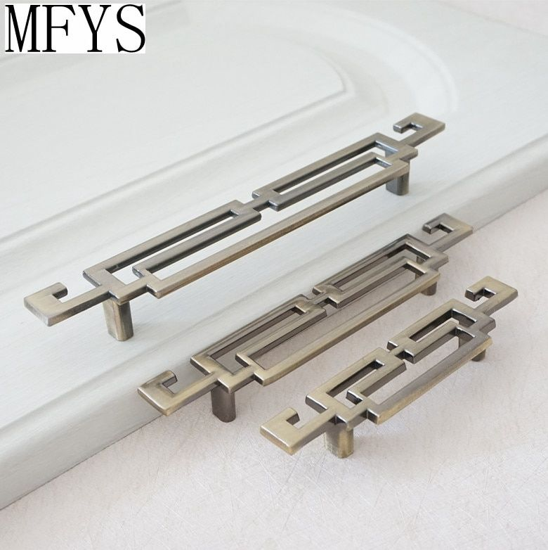 2.5'' 3.75'' 5'' Vintage Style Kitchen Cabinet handle Door Handles / Bronze Dresser Pull Drawer Retro Furniture Handle hardware